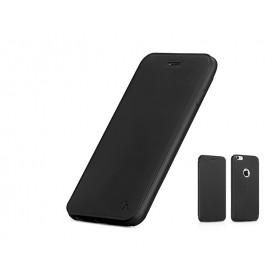 Кожанный чехол-книжка HOCO Juice Series Nappa для iPhone 6 Plus/ 6s Plus (Черный)