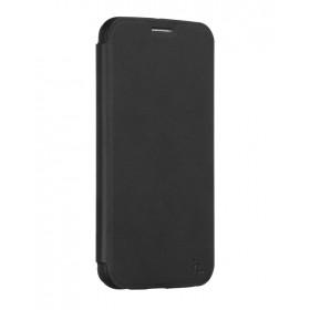 Кожанный чехол-книжка HOCO Juice Series Nappa для Samsung S6 Edge + (Черный)