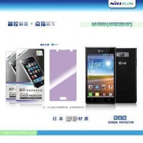 Матовая защитная пленка Nillkin для LG Optimus L7 P705 Black / White