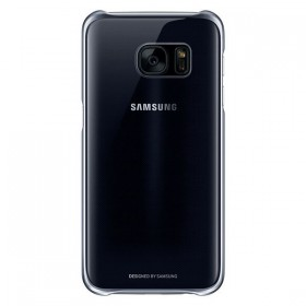 Оригинальная накладка Clear Cover для Samsung Galaxy S7 (BLACK EF-QG930CBEGUS)