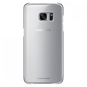 Оригинальная накладка Clear Cover для Samsung Galaxy S7 edge (G935) (SILVER  EF-QG935CSEGUS )