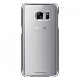 Оригинальная накладка Clear Cover для Samsung Galaxy S7 (SILVER EF-QG930CSEGUS)
