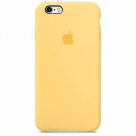 Оригинальный чехол Apple Silicone Case для iPhone 6s 6 (Yellow)
