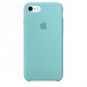 Оригинальный чехол Apple Silicone Case для iPhone 7   8 (Sea Blue)