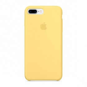 Оригинальный чехол Apple Silicone Case для iPhone 7 Plus | 8 Plus (Yellow)