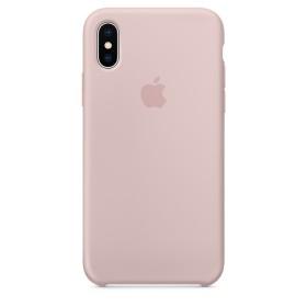 Оригинальный чехол Apple Silicone Case для iPhone X (Pink Sand) (OEM)