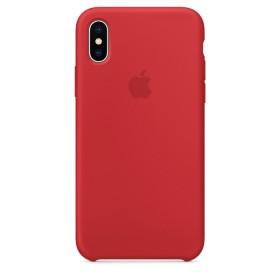 Оригинальный чехол Apple Silicone Case для iPhone X (Red) (OEM)