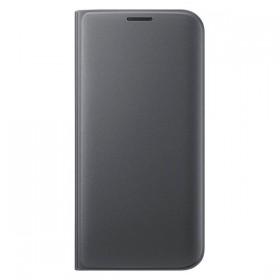 Оригинальный чехол Flip Wallet для Samsung Galaxy S7 edge (G935) (BLACK)