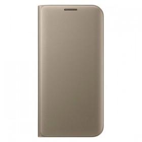 Оригинальный чехол Flip Wallet для Samsung Galaxy S7 edge (G935) (GOLD)