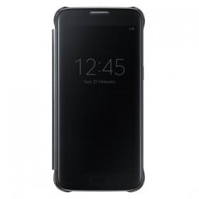 Оригинальный чехол S View Cover для Samsung Galaxy S7 (BLACK EF-CG930PBEGUS)