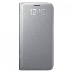 Оригинальный чехол Samsung LED View Cover для Galaxy S7 (SILVER)