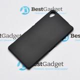 Полимерный TPU чехол для Sony Xperia Z3 (Матовый Черный)