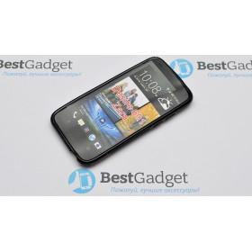 Полимерный TPU чехол Duotone для HTC Desire 601 (Черный)