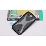 Полимерный TPU чехол New Line X-series для LG L90 (Черный) + Защитная пленка