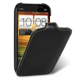 Премиум чехол Melkco для HTC desire SV (T326e) (Jacka Black LC)