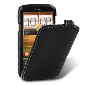 Премиум чехол Melkco для HTC Desire V (T328w)/Desire X (T328e) (Jacka Type Black LC)