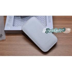 Премиум чехол Melkco для HTC Desire V (T328w)/Desire X (T328e) (Jacka Type White LC)