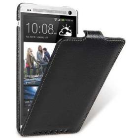 Премиум чехол Melkco для HTC One Max (Jacka black LC)