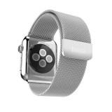 Ремешок HOCO Milanese Steel из хирургической стали марки 316L для Apple Watch 42mm (Сербро)