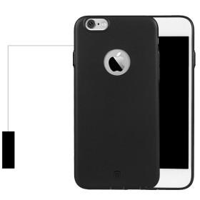 TPU чехол Baseus Mousse для iPhone 6 / 6S (Olive black)