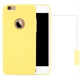 TPU чехол Baseus Mousse для iPhone 6 /6S (Yellow)