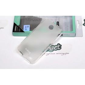 TPU чехол Kuboq для Lenovo a516 (Clear White) + пленка