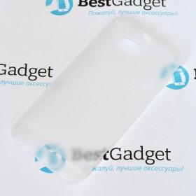 Ультра тонкий чехол 0.3mm для HTC One M8 (Прозрачный)