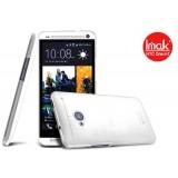 Ультра -тонкий чехол ImaK Color 0.7mm для HTC One M7 (Clear White)