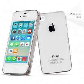 Ультра тонкий TPU чехол HOCO Light Series для Apple iPhone 4 / 4s (0.6mm Черный)
