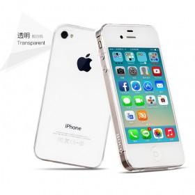 Ультра тонкий TPU чехол HOCO Light Series для Apple iPhone 4 / 4s (0.6mm Прозрачный)