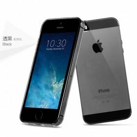 Ультра тонкий TPU чехол HOCO Light Series для Apple iPhone SE / 5 / 5s (0.6mm Черный)