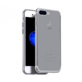 Ультра тонкий TPU чехол HOCO Light Series для iPhone 7 Plus | 8 Plus (0.6mm Прозрачный | Черный)