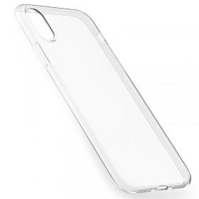 Ультра тонкий TPU чехол HOCO Light Series для iPhone X (Slim Прозрачный)