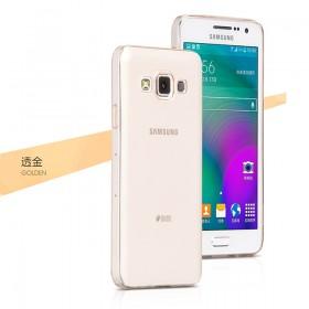 Ультра тонкий TPU чехол HOCO Light Series для Samsung Galaxy A5 (0.6mm Золото)