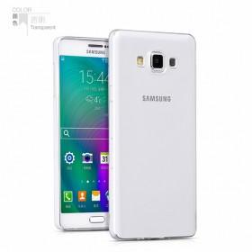 Ультра тонкий TPU чехол HOCO Light Series для Samsung Galaxy A7 (0.6mm Прозрачный)