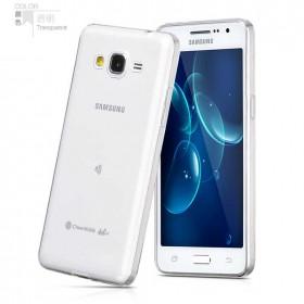 Ультра тонкий TPU чехол HOCO Light Series для Samsung Galaxy Grand Prime (0.6mm Прозрачный)