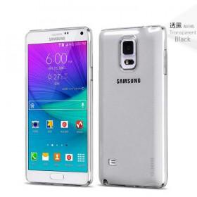 Ультра тонкий TPU чехол HOCO Light Series для Samsung Galaxy Note 4 (0.6mm Черный)