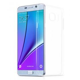 Ультра тонкий TPU чехол HOCO Light Series для Samsung Galaxy NOTE 5 (0.6mm Черный)