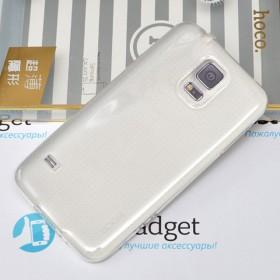 Ультра тонкий TPU чехол HOCO Light Series для Samsung Galaxy S5 (0.6mm Прозрачный)