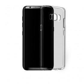 Ультра тонкий TPU чехол HOCO Light Series для Samsung Galaxy S8+ (0.6mm Прозрачный Черный)