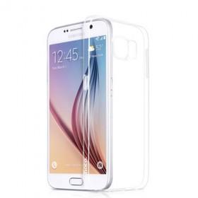 Ультра тонкий TPU чехол HOCO Light Series для Sansung Galaxy S6 (0.6mm Белый)