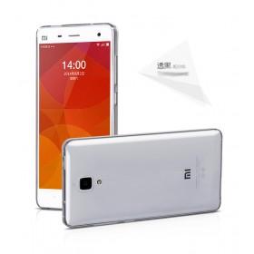Ультра тонкий TPU чехол HOCO Light Series для Xiaomi mi4 (0.6mm Черный)
