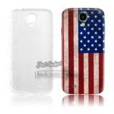 Задняя крышка для Samsung i9500 Galaxy s4 от IMAK (Американский флаг)