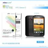 Защитная пленка Nillkin Crystal для HTC Desire C (A320e) (Анти-отпечатки)