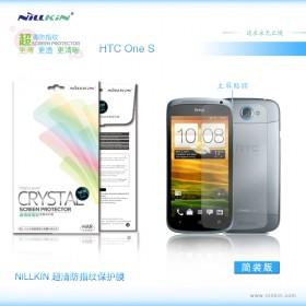 Защитная пленка Nillkin Crystal для HTC One S (Z320e) (Анти-отпечатки)