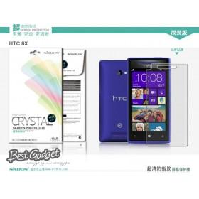 Защитная пленка Nillkin Crystal для HTC Windows Phone 8X C620e (Анти-отпечатки)