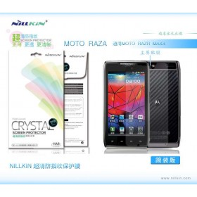 Защитная пленка Nillkin Crystal для Motorola Droid Razr xt910 / Maxx (Анти-отпечатки)