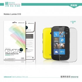 Защитная пленка Nillkin Crystal для Nokia Lumia 510 (Анти-отпечатки)