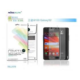 Защитная пленка Nillkin Crystal для Samsung Galaxy S2 i9100 (Анти-отпечатки)