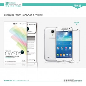 Защитная пленка Nillkin Crystal для Samsung Galaxy S4 Mini (Анти-отпечатки)